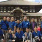 式典も終わり東大寺で観光