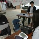 吉備国際大学の学生による健康相談