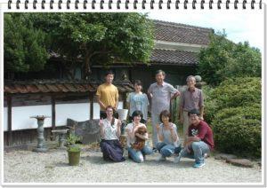 この日学校の先生方10名が集まりバーベキューをしました。岡山大学の留学生のマレーシア人も参加し楽しく過ごしました。
